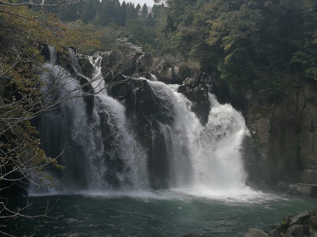 sekino-o falls waterfall nature beautiful outdoor japan miyazaki