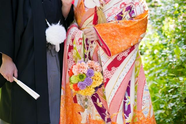 uchikake japanese kimono wedding